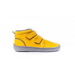 Kinder Winter  Barfußschuhe Be Lenka Penguin - Yellow