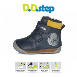 D.D. Step winter Kinderschuhe 070 Royal Blue