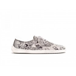 Barefoot Sneakers Be Lenka City - White Crushed Comics